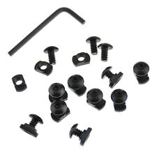 K2 12Pcs M-Lok Screw and Nut Replacement Set for Mlok Handguard Rail Sections