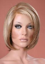 Ladies Bob Style Short Straight Honey & Light Blonde Mix Fashion Style Full Wig