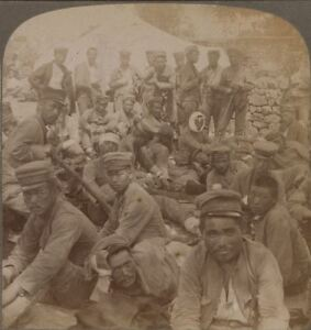 Some of the Japanese Wounded from the Siege of Port Arthur. japanese Russian War