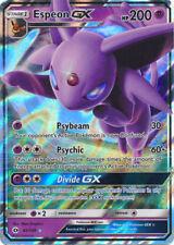 Pokemon Sun and Moon Espeon-Gx 61/149 Ultra Rare Card