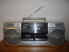 Used Sharp GF-858 Radio Double Cassette Boombox Ghettoblaster