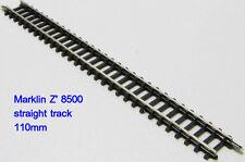 Marklin 8500 Miniclub Z-scale 1:220 Straight track 110mm (Long 4-3/8) 10pcs NEW