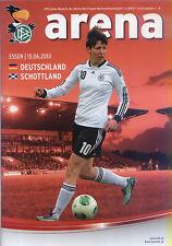 Frauen-Länderspiel 15.06.2013 Deutschland - Schottland, DFB-Arena 2/2013 Essen