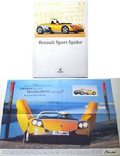 Renault Sport Spider 1996-97 Original German Brochure