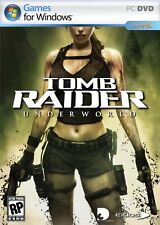 NEW*SEALED PC GAME TOMB RAIDER UNDERWORLD (PC)(DVD) BRAND NEW