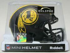 WASHINGTON REDSKINS NFL Riddell SPEED Mini Football Helmet NEW BLACK ECLIPSE