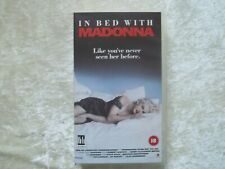 IN BED WITH MADONNA + SIX POSTCARDS VHS THE VIDEO COLLECTION MAD 18