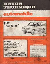 RTA revue technique automobile N° 413 FIAT PANDA 45
