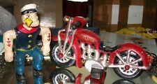 VINTAGE 1929 HUBLEY POPEYE 'PATROL' HARLEY DAVIDSON MOTORCYCLE