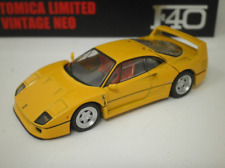"/""Takara Tomy Ferrari F40 Tomica Mall Limited Vintage Neo TLV-NEO Yellow /"""