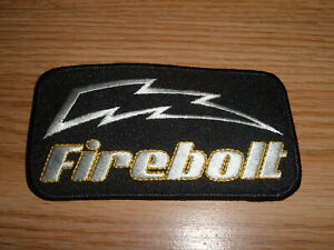 VINTAGE EBONITE FIREBOLT BOWLING BALL EMBROIDERED PATCH