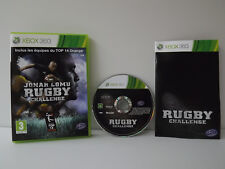Jonah Lomu Rugby challenge - Game xbox 360 complete with record