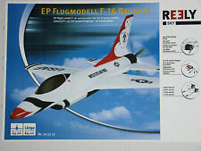Reely Sky F-16 Bausatz ARTF mit 180W Brushless etc. - 83,5 cm Länge - Neu & OVP