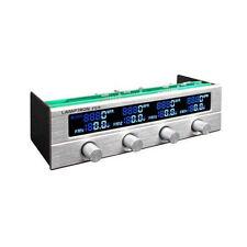 Lamptron FC5V2 4Ch Multi Color LCD 5.25 Bay Fan Controller, Silver