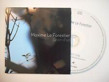 MAXIME LE FORESTIER : GRAIN DE SEL [ CD SINGLE PORT GRATUIT ]