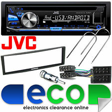 Renault Megane MK2 2003 - 2010 JVC CD MP3 USB Aux Car Stereo & Fascia Panel Kit
