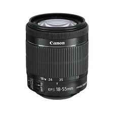 - Canon EF S 18-55 mm F/3.5-5.6 Lens IS STM