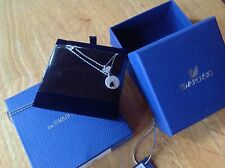 "Swarovski Jewelry ""in store"" Promo Silver Tone Necklace (2 Necklaces in 1)"