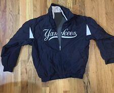 Majestic New York Yankees MLB jacket Kids Boys Girls Fleece Lined EUC Baseball