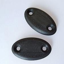 NA NB Miata Sun Visor Block Off Plates removal blank plug delete cover mx5 mazda