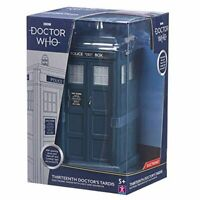 Doctor Who Tardis Model Thirteenth Doctors Blue Police Box Opening Doors Figure