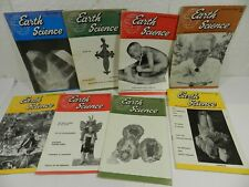8 1960's Rock Collector Magazine lot Earth Science Geology Rockhound fossils