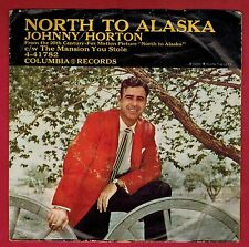 Johnny Horton - North To Alaska - with picture sleeve - 1960 - Top 10 Hit