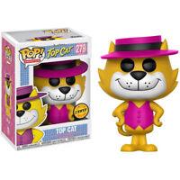 "New Pop Animation: Hanna-Barbera - Top Cat 3.75"" Funko Vinyl CHASE"