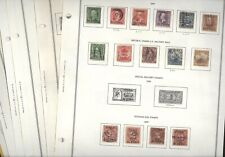 Us Possessions, Puerto Rico, Excellent assortment of Classic Stamps hinged/mount
