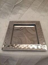 Exklusives Fink Tablett Piatto 127480 Edelstahltablett quadratisches Tablett