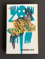 FASTER PUSSYCAT - Poison Ivy / Tattoo Cassette Tape Single 1989 Glam Rock Rare