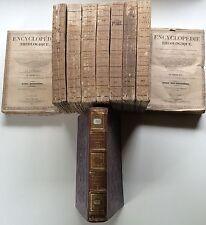 L'ABBE PIERROT,ENCYCLOPEDIE,DICTIONNAIRE de THEOLOGIE MORALE,10 TOMES,Paris 1849