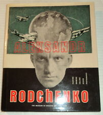 1998 1ST ED. ALEKSANDR RODCHENKO - MOMA Exhibition - CONSTRUCTIVISM - HC/DJ