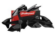 KTM SX 125 150 SXF 250 350 450 2016 MOTOCROSS PLASTIC KIT POLISPORT - Black