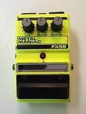 DOD Digitech FX58 Metal Maniac Distortion Rare Vintage Guitar Effect Pedal