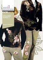 Designer Roses 2 Anita Goodesign Embroidery Machine Design CD NEW