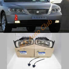 For Hyundai 06-11 j Azera Fog Driving Lights LH With RH +Cable Connector Wiring