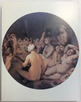 The Turkish Bath Jean-Auguste-Dominique Ingres Art Print On Board FoundArtShop