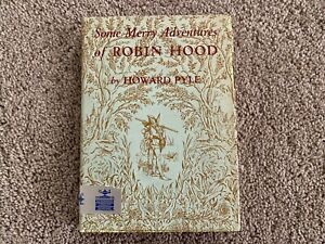 Some Merry Adventures of Robin Hood by Howard Pyle, 1954, Scribners, FREE SHIP