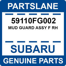 59110FG002 Subaru OEM Genuine MUD GUARD ASSY F RH