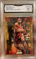 LeBRON JAMES Rookie 2003 Upper Deck Freshman Season Gem Mint 10 #42 Lakers