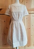 NWT J Howard Size 10 Eyelet Fit & Flare Dress - Short Sleeve Cotten Blend Dress