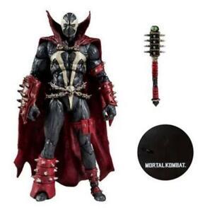 In STOCK Mcfarlane Toys Mortal Kombat Spawn w/Mace Action Figure