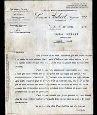 "NANTES (44) MACHINE-OUTIL & OUTILLAGE ""F. AUBERT-THOUVENIN / Lucien AUBERT"" 1925"
