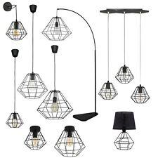 Deckenlampe Hängelampe Pendelleuchte Tischleuchte Schwarz Matt Industrie Design