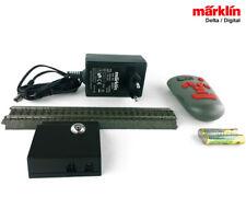 Märklin 00748 Digital-Fernbedienung + Netzteil + 24089 Gleis