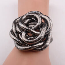 Schlangen Kette biegsam flexibel silber farben geschwärzt snake necklace NEU