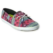 Vans Off the Wall Womens Surf Palisades Vulc Leila Placid Blue Shoes 10 Flats