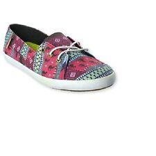 Vans Off the Wall Womens Surf Palisades Vulc Leila Placid Blue Shoes 9.5 Flats