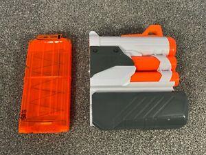 Nerf Modulus Tri Strike Mega Shotgun Barrel Attachment + 10 Dart Magazine Clip